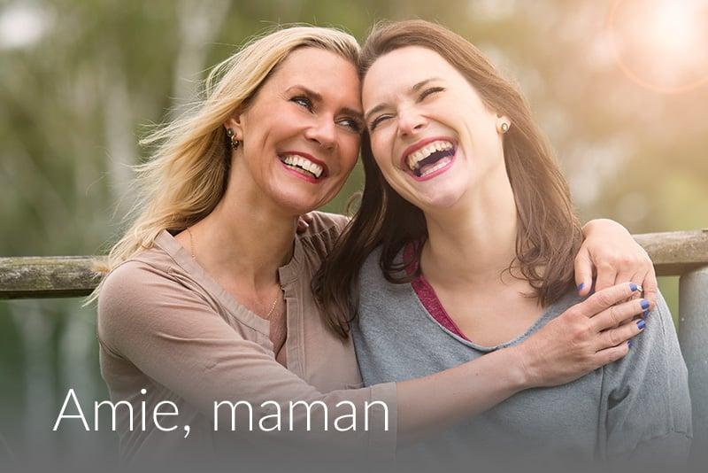 Freundin-Mama