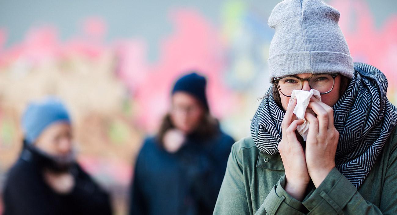 Im Winter ist das Immunsystem besonders gefordert