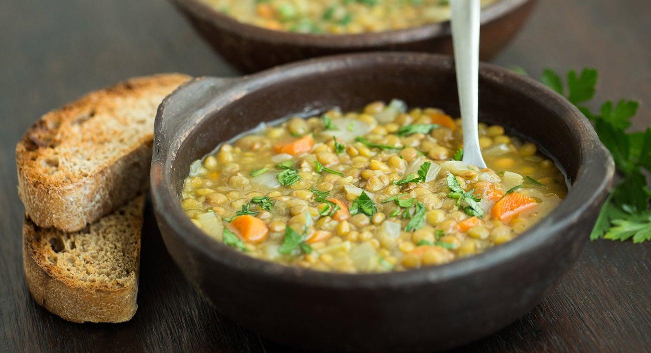 Mung Dal - Gemüse Suppe