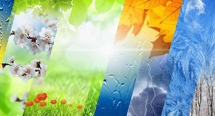 Der Einfluss der Jahreszeiten auf die Doshas
