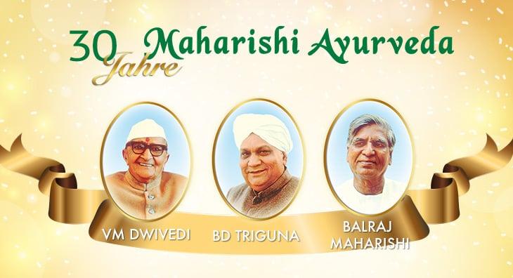 Der Beginn von Maharishi Ayurveda in Europa