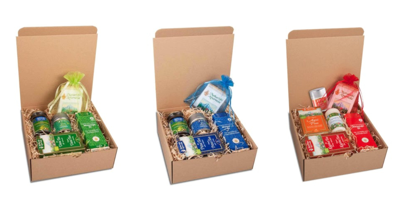Beschenken Sie sich und andere mit besonderen ayurvedischen Produkten