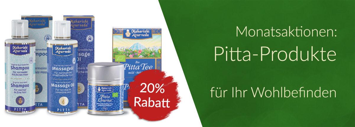 Pitta-Produkte in Aktion 20%