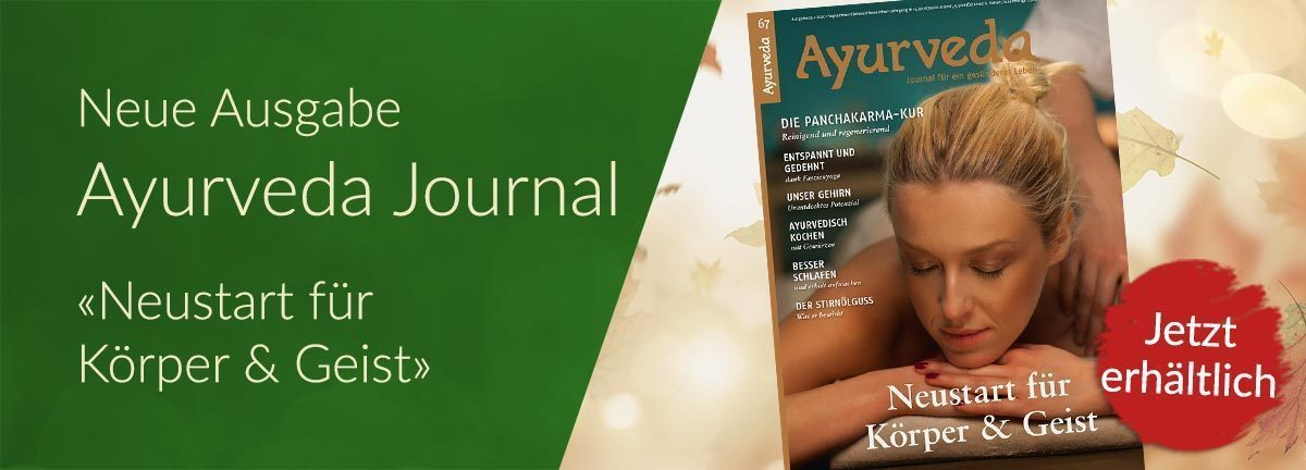 Das neue Ayurveda Journal ist da!
