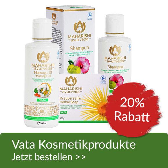 Vata Kosmetikprodukte 20% Aktion