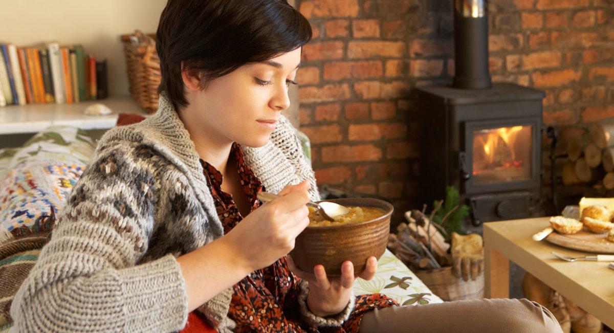 Wärmende Erntedank-Suppe